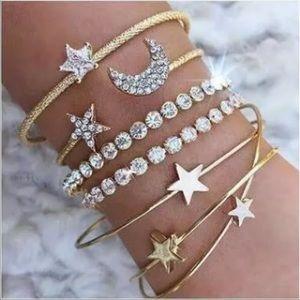 Crystal Night Out ♡ 4 pcs Bracelet SET
